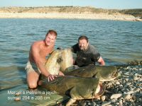 Rybolov sumců na Ebru, průvodci, rybářské pobyty, rybaření