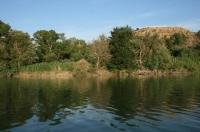 okonlní břehy Ebra