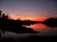 ebro západ slunce