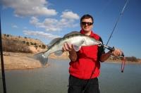 Horní přehrada Ebro únor 07