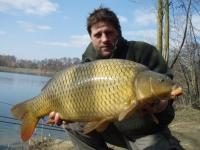 Tovačovská jezera lovec Muf  ,kapr  75cm 9 kg
