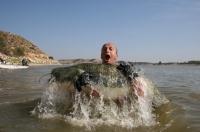 šťastný Patrik s úlovkem září 09 Ebro