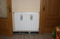 ústřední vytápění v každém pokoji na chladnější zimní měsíce