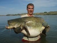 Štěpán jeho osobák  220cm 71kg dlouhej souboj z lodi