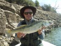 Na přívlači  s Néčou  Rio Ebro 27.8-3.9.2011 candati