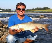 Parma z řeky Moravy