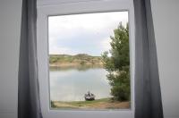 Pohled z okna na lovné místo
